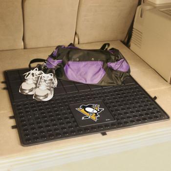 "31"" Pittsburgh Penguins Heavy Duty Vinyl Cargo Trunk Mat"
