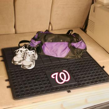 "31"" Washington Nationals Heavy Duty Vinyl Cargo Trunk Mat"