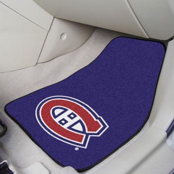 Montreal Canadiens Blue Carpet Car Mat, Set of 2