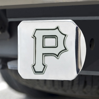 Pittsburgh Pirates Hitch Cover - Chrome on Chrome