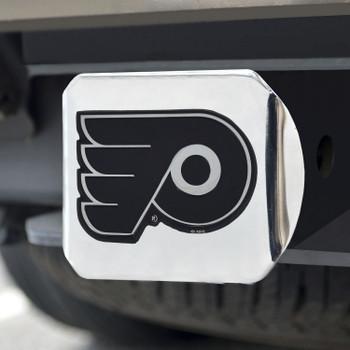 Philadelphia Flyers Hitch Cover - Chrome on Chrome