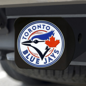 Toronto Blue Jays Hitch Cover - Team Color on Black