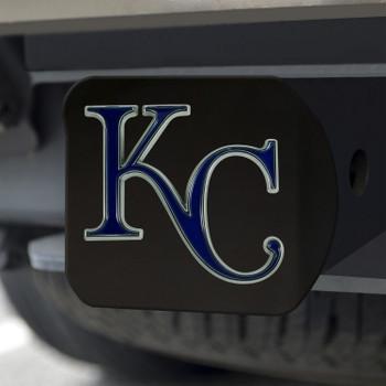 Kansas City Royals Hitch Cover - Team Color on Black