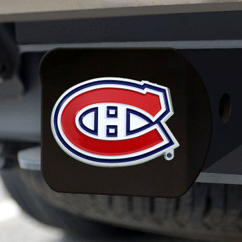 Montreal Canadiens Hitch Cover - Team Color on Black