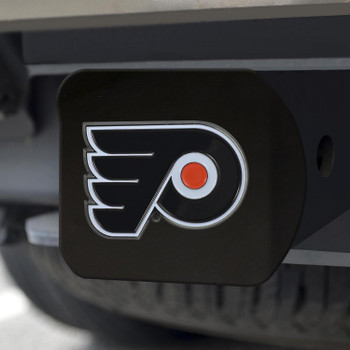 Philadelphia Flyers Hitch Cover - Team Color on Black