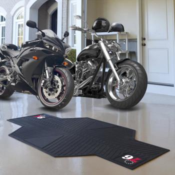 """82.5"""" x 42"""" Philadelphia 76ers Motorcycle Mat"""