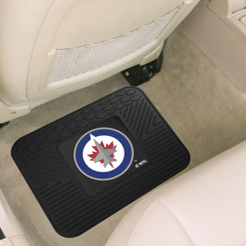 "14"" x 17"" Winnipeg Jets Vinyl Car Utility Mat"