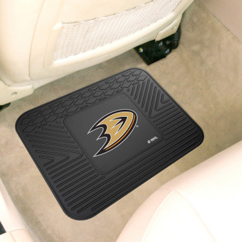 "14"" x 17"" Anaheim Ducks Vinyl Car Utility Mat"