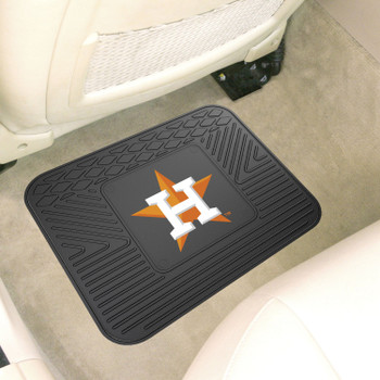 """14"""" x 17"""" Houston Astros Vinyl Car Utility Mat"""