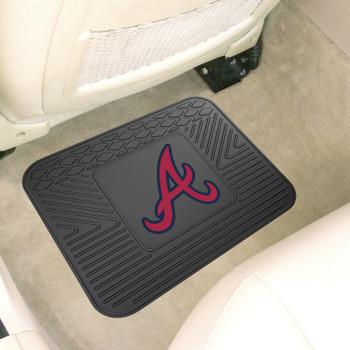 "14"" x 17"" Atlanta Braves Vinyl Car Utility Mat"