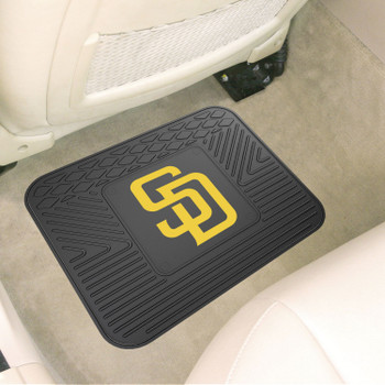 "14"" x 17"" San Diego Padres Vinyl Car Utility Mat"