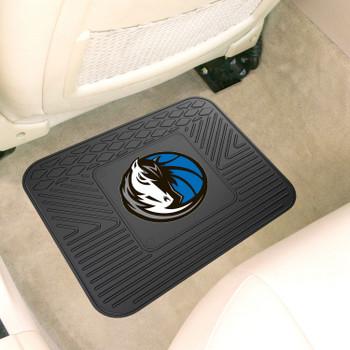 "14"" x 17"" Dallas Mavericks Vinyl Car Utility Mat"