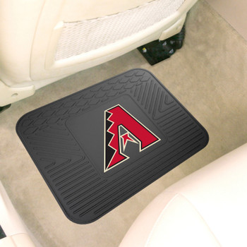"14"" x 17"" Arizona Diamondbacks Vinyl Car Utility Mat"