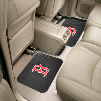 "14"" x 17"" Boston Red Sox Vinyl Car Utility Mat, Set of 2"