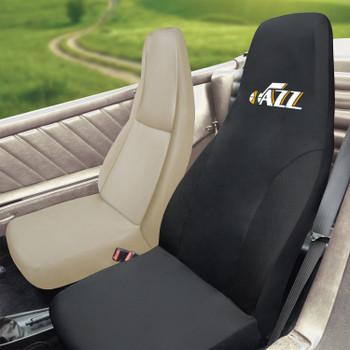 Utah Jazz Black Car Seat Cover