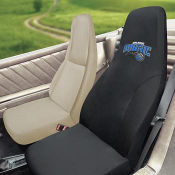 Orlando Magic Black Car Seat Cover
