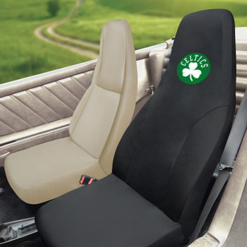 Boston Celtics Black Car Seat Cover