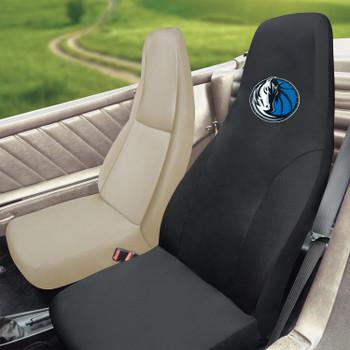 Dallas Mavericks Black Car Seat Cover