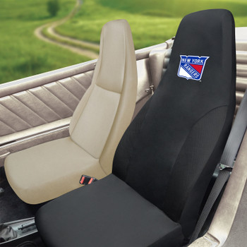 New York Rangers Black Car Seat Cover