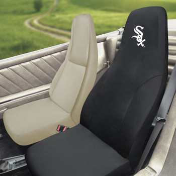 Chicago White Sox Black Car Seat Cover