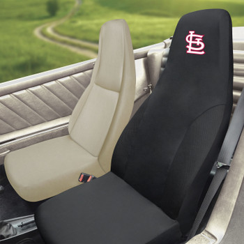 St. Louis Cardinals Black Car Seat Cover