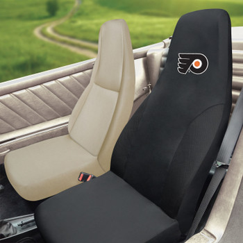 Philadelphia Flyers Black Car Seat Cover