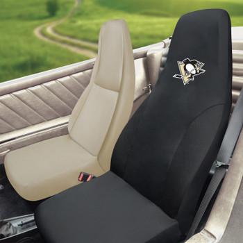 Pittsburgh Penguins Black Car Seat Cover
