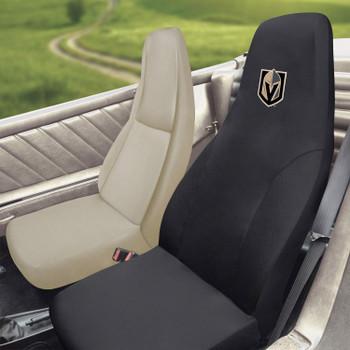 Vegas Golden Knights Black Car Seat Cover