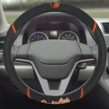 Baltimore Orioles Steering Wheel Cover