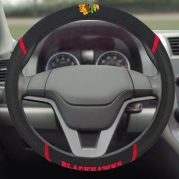 Chicago Blackhawks Steering Wheel Cover