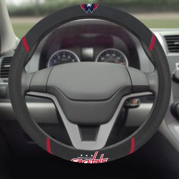 Washington Capitals Steering Wheel Cover