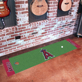 "18"" x 72"" Los Angeles Angels Putting Green Runner Mat"