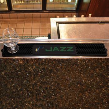 Utah Jazz Vinyl Drink Mat