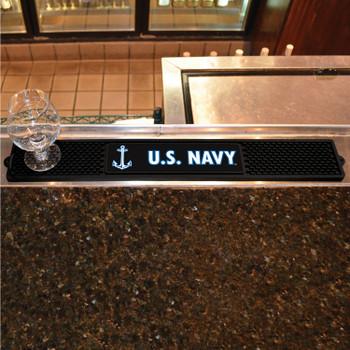 U.S. Navy Vinyl Drink Mat