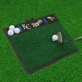 """20"""" x 17"""" Kansas City Royals Blue Golf Hitting Mat"""