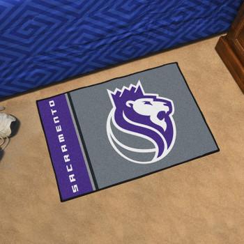 "19"" x 30"" Sacramento Kings Uniform Purple Rectangle Starter Mat"