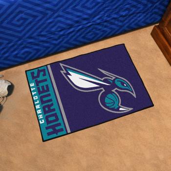 "19"" x 30"" Charlotte Hornets Uniform Purple Rectangle Starter Mat"