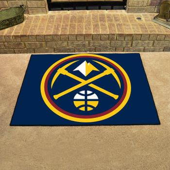 "33.75"" x 42.5"" Denver Nuggets All Star Navy Rectangle Rug"