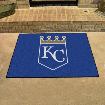 "33.75"" x 42.5"" Kansas City Royals All Star Blue Rectangle Rug"