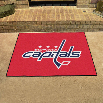 "33.75"" x 42.5"" Washington Capitals All Star Red Rectangle Rug"