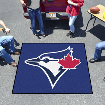 "59.5"" x 71"" Toronto Blue Jays Blue Tailgater Mat"