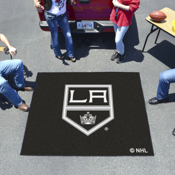 "59.5"" x 71"" Los Angeles Kings Black Tailgater Mat"
