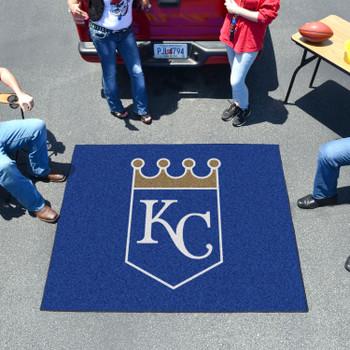 "59.5"" x 71"" Kansas City Royals Blue Tailgater Mat"