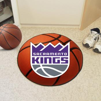 "27"" Sacramento Kings Round Basketball Mat"