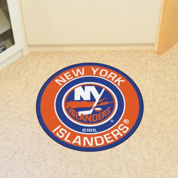 "27"" New York Islanders Roundel Blue Round Mat"