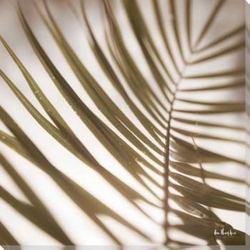 Palm Leaf II Wrapped Canvas Giclee Art Print Wall Art