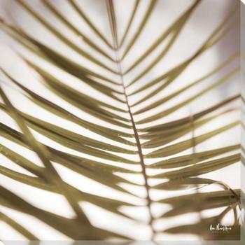 Palm Leaf I Wrapped Canvas Giclee Art Print Wall Art