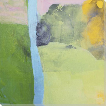 Moon Haze Wrapped Canvas Giclee Art Print Wall Art