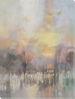 Twilight Scenic 2 Wrapped Canvas Giclee Art Print Wall Art