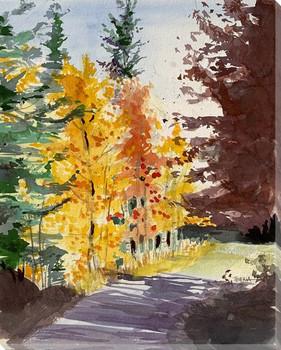 Sun Dance Wrapped Canvas Giclee Art Print Wall Art